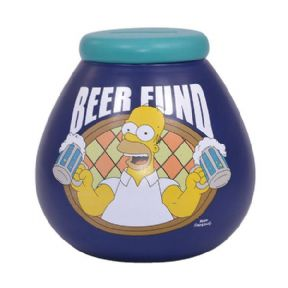 The Simpsons Beer Fund Pot of Dreams